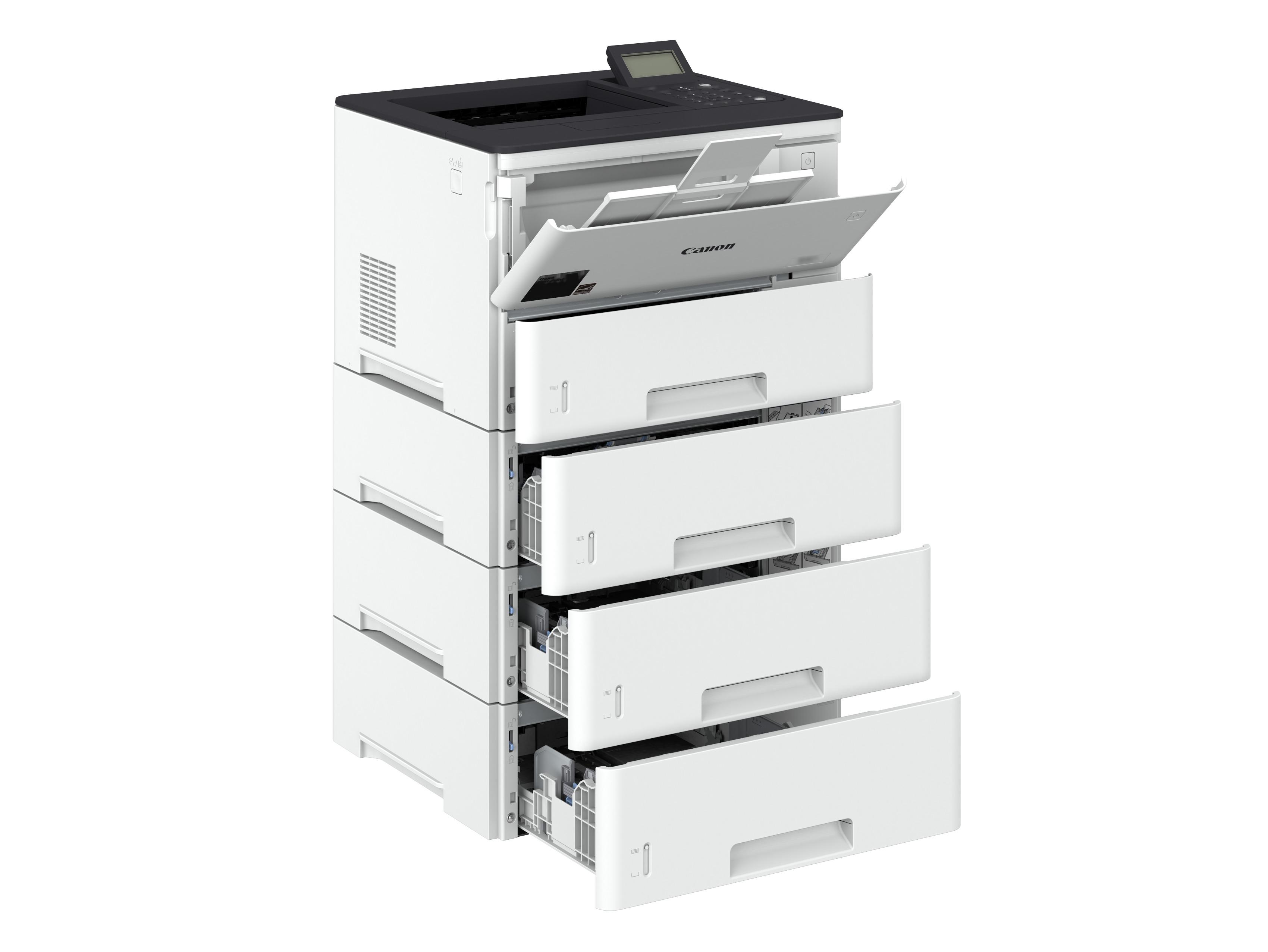 Принтер Canon i-SENSYS LBP312x для черно-белой печати (с 3 дополнительными кассетами для бумаги на 550 листов каждая)
