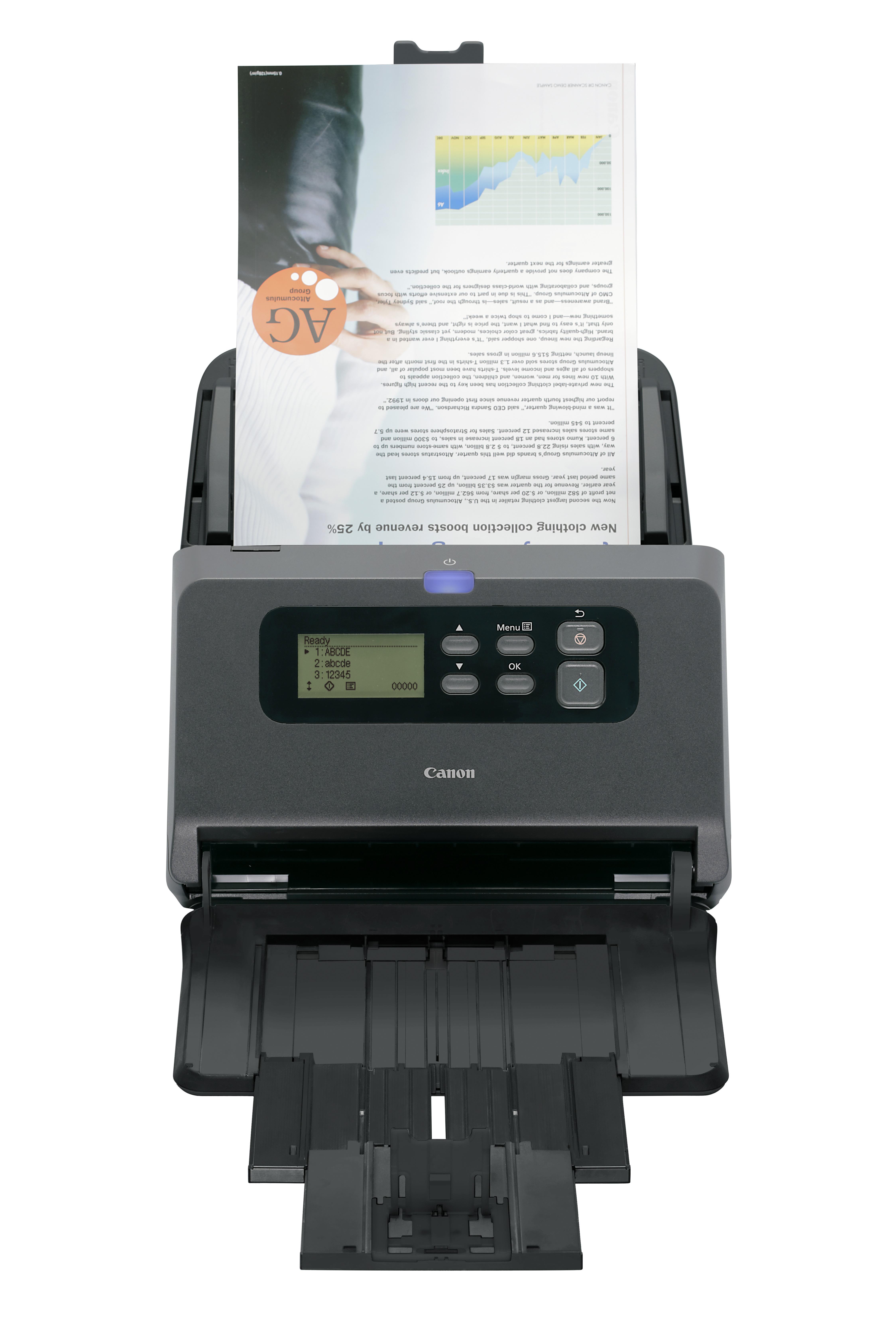 Сканнер Canon imageFORMULA DR-M260 бьет рекорды производительности и универсальности
