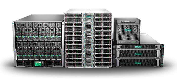 Обновленная в 2017 году линейка серверов HPE ProLiant Gen10