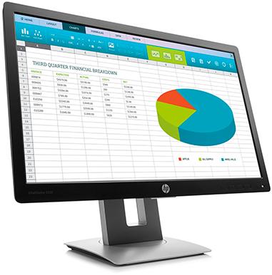 Монитор HP EliteDisplay E222 (вид спереди)